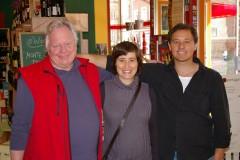 Filipa Pato und Frederico Gomes sind Winzer aus Portugal in Marburg