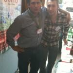 Wein am Main Frankfurt 2013 Tonino Costa und Christiano sind dabei