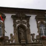 Rathaus Guimaraes der Vinho Verde Stadt