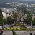 Blick von der Altstadt zu einer der vielen Kirchen