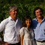Unsere freundlichen Gastgeber bei Quinta de la Raza