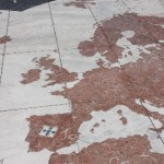 klein_61 Marmormosaik mit kolonialer Weltkarte_327