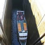 Carrapatelo: Schleuse mit der grösste Hubtiefe Europas von oben: 35m