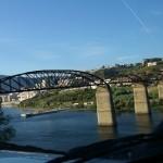 Die Eisenbahnbrücke bei Peso, angeblich ist noch kein Zug drübergefahren, wer weiss es ?